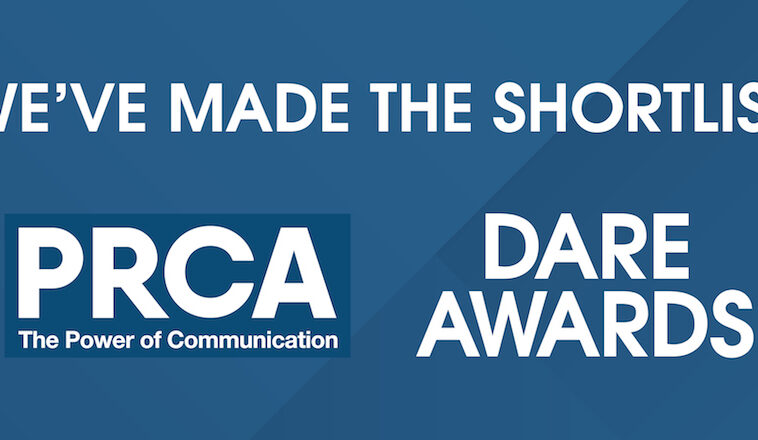 Jargon PR shortlisted for the PRCA Dare Awards