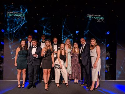Jargon PR goes to the Thames Valley Tech Awards