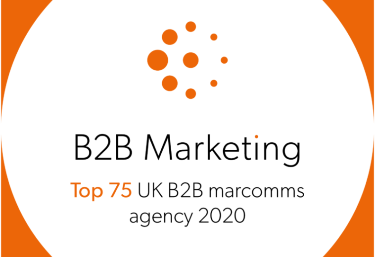 Jargon PR named one of the UK's top B2B marcomms agencies in B2B Marketing's UK Agency Benchmarking Report 2020