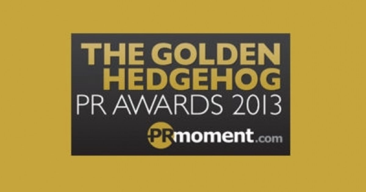 Finalist, Event of the Year and Small Agency of the Year, Golden Hedgehog Awards 2013