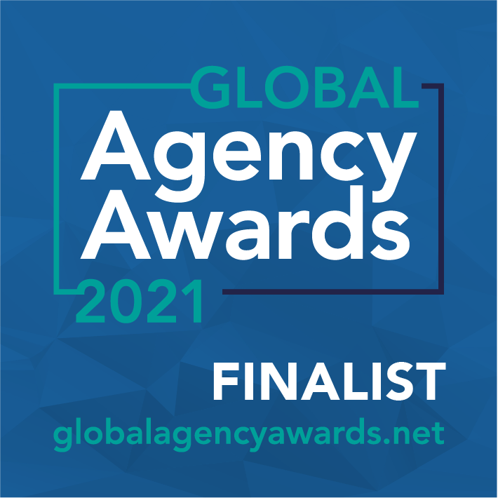 Shortlisted, Independent Agency of the Year and Best Small Agency, Global Agency Awards 2021