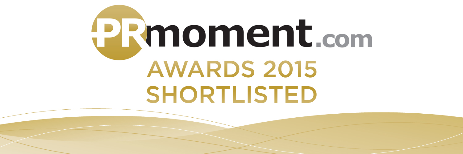 Shortlisted, Small Agency of the Year, PR Moment Awards 2015