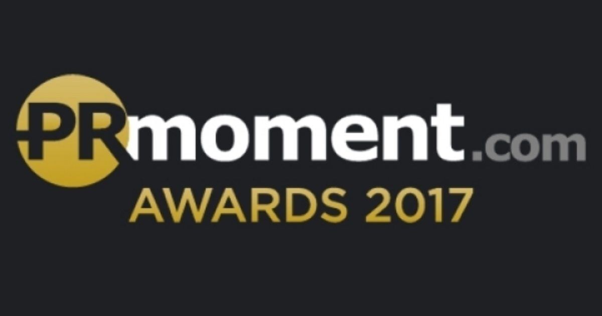 Finalist, B2B Agency of the Year and Technology Agency of the Year, PR Moment Awards 2017
