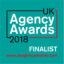 Finalist, PR Agency of the Year and B2B Agency of the Year, UK Agency Awards 2018
