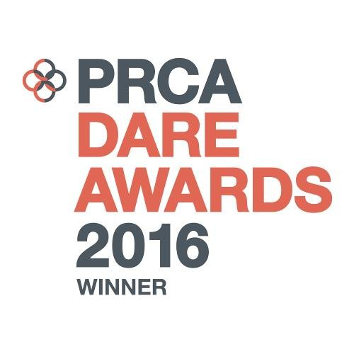 Winner, Small Consultancy of the Year, PRCA Dare Awards 2016